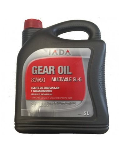 Aceite Multiaxle 80W90 GL-5, IADA