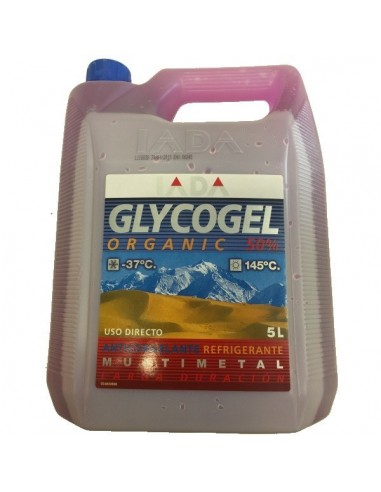 Glycogel Orgánico 50% Lila G12 Plus, Anticongelante Iada