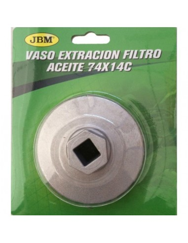 Vaso Extraccion Filtro Aceite 74x14C
