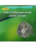 Vaso Extraccion Filtro Aceite 87x16C