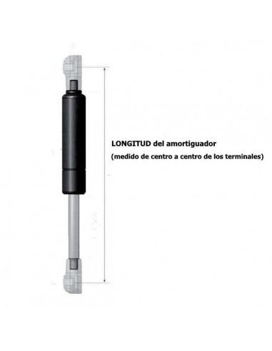 Amortiguador de Gas para Maletero o Capó Ref. 4061.15